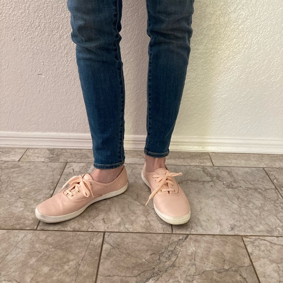 Keds Hollister EXCLUSIVE Pink Gold Shine Champions